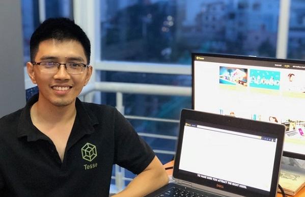 Nguyễn Phạm Tuấn Anh, đồng sáng lập Tesse; Ảnh: NVCC
