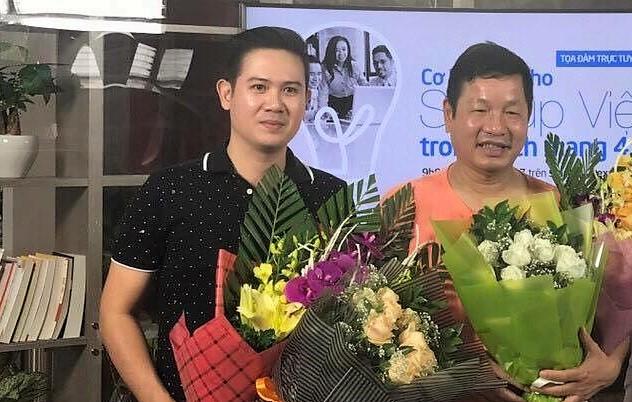 Ông Phạm Văn Tam cùng chủ tịch FPT Trương Gia Bình sẽ là hai trong số những thành viên hội đồng chuyên môn cuộc bình chọn Startup Việt năm nay.