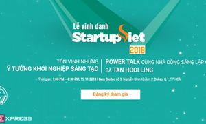 Top 15 Startup Việt 2018 trực tiếp thuyết trình trước giám khảo