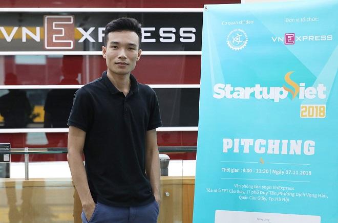 CEO Trần Quang Chiến của giải pháp an ninh mạng CyStack.