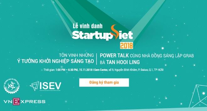 Gala chung kết Startup Việt 2018 mở cửa đăng ký miễn phí chào đón tất cả bạn đọc quan tâm tham dự. Độc giả đăng ký tham gia tại đây.