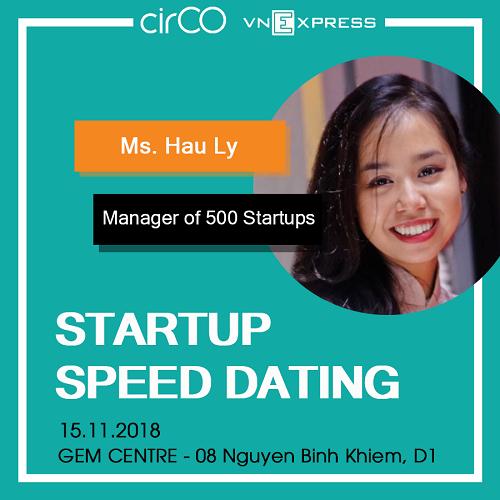 Lý Khánh Hậu đến từ 500 Startups Việt Nam