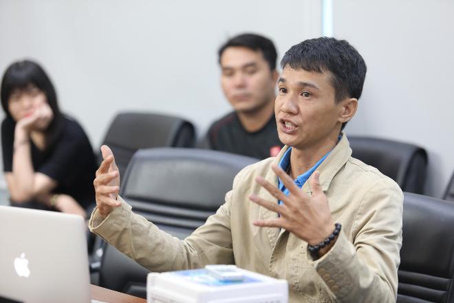 Phạm Cao Kỳ dành nhiều tâm huyết với ngành nông nghiệp giúp bà con nông dân cải thiện quy trình và năng suất sản phẩm. Ảnh: Thành Nguyễn.