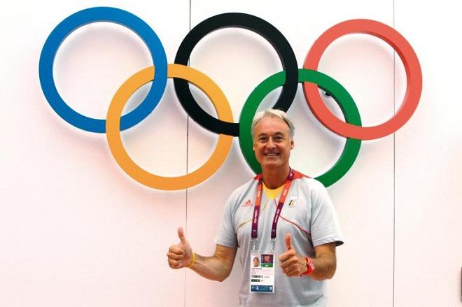 Diễn giả cũng là huấn luyện viên tinh thần của đội tuyển Olympic Bỉ trong 10 năm qua kể từ năm 2008.