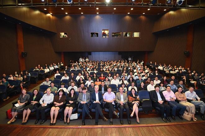 Hội thảo thu hút sự tham gia của 250 lãnh đạo, quản lý cấp cao của các doanh nghiệp: Ảnh: SVF