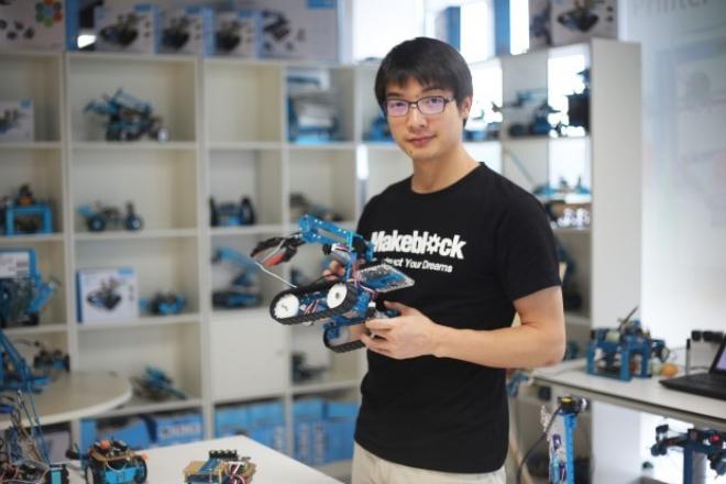 Makeblock là một trong những startup nổi bật tại thung lũng Silicon của Trung Quốc. Ảnh: Makeblock.