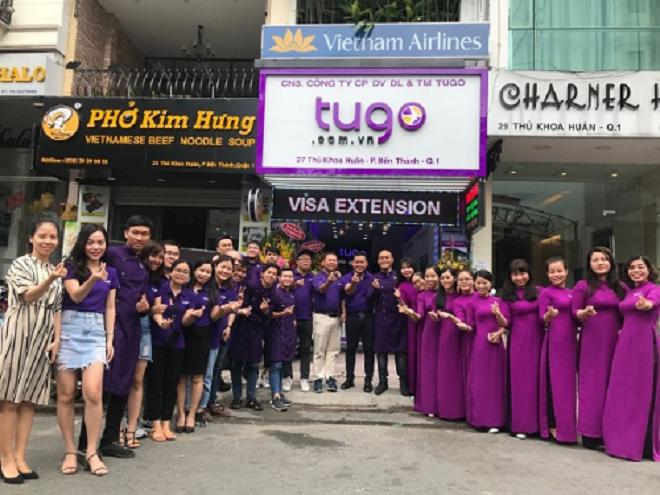 Tugo vừa mở thêm chi nhánh tại Thủ Khoa Huân, quận 1, TP HCM, nâng tổng số chi nhánh tại TP HCM lên 4 cơ sở.