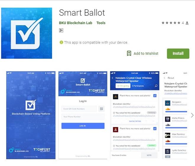 Ứng dụng Smart Ballot tăng tính minh bạch, bảo mật cho quá trình bình chọn.