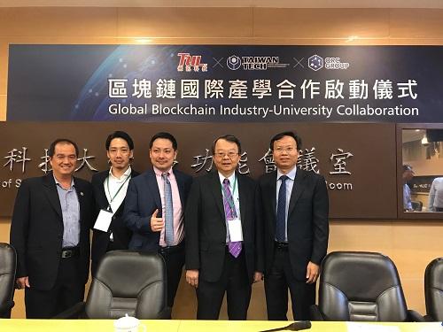 Đại diện ĐHBách khoa TP HCM, IBL và Tập đoàn TUL tại buổi lễ ký kết.IBL cũng đã thiết lập quan hệ hợp tác với nhiều trường đại học lớn tại Việt Nam và châu Á, điển hình là ĐH Bách khoa TP HCM.Tại buổi lễ ký kết, đại diện ĐH Bách khoa cũng được mời tham dự và trao đổi cùng Taiwan Tech về công tác đào tạo Blockchain trong cộng đồng học thuật.