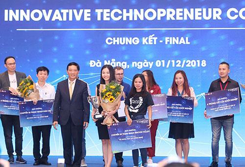 Abivin trở thành quán quânCuộc thi Khởi nghiệp đổi mới sáng tạo quốc gia 2018.