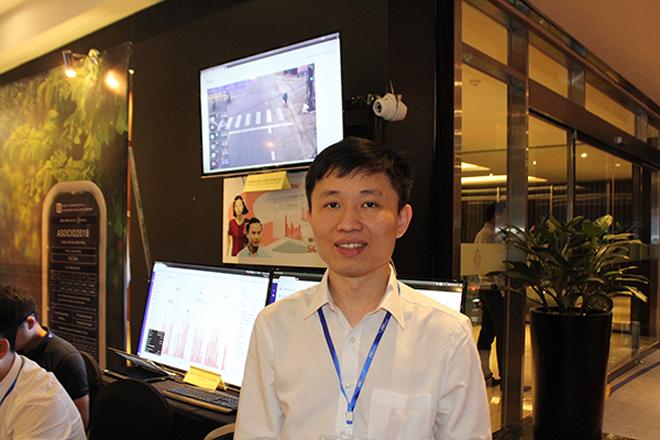 CEO Nguyễn Đình Nam của công ty cổ phần VP9.