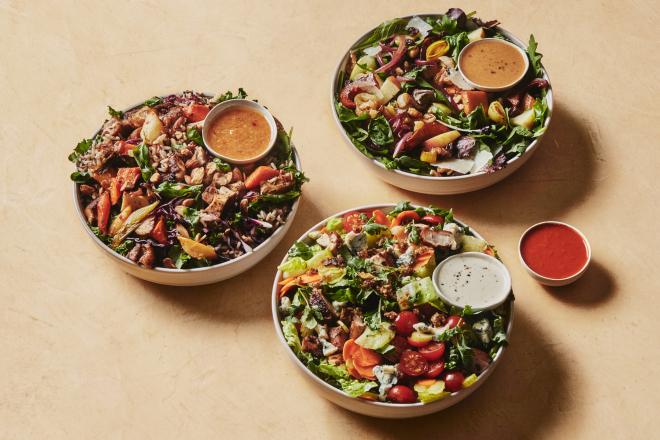 Nguyên liệu làm salad của Sweetgreen được chuyển về trực tiếp từ các nông trại khắp nước mỹ. Ảnh: Sweetgreen.