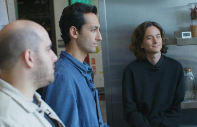 Ba đồng sáng lập Sweetgreen từ trái sang: Nicolas Jammet, Jonathan Neman và Nathaniel Ru. Ảnh: CNN.