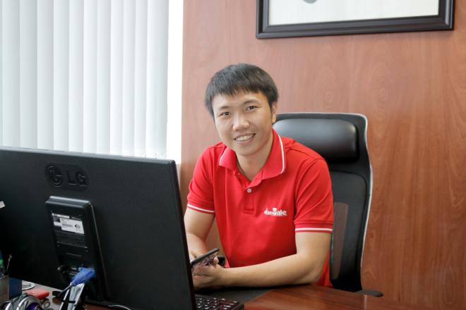 Nguyễn Nghĩa Nhật mong muốn sẽ xây dựng nền kinh tế giao thương không biên giới cho các tiểu thương đến doanh nghiệp lớn nhỏ. Ảnh: NVCC.