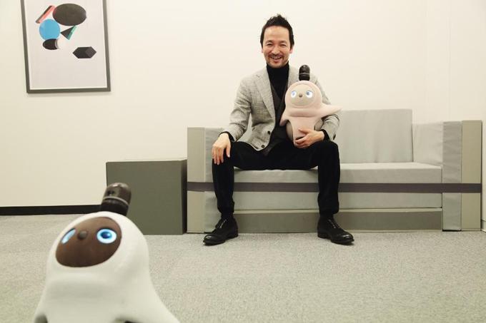Anh Kaname Hayashi là nhà sáng lập kiêm CEO Groove X.