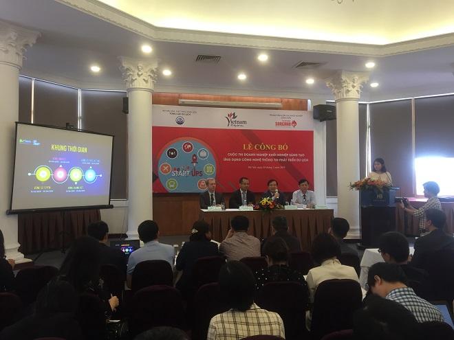 Lễcông bố cuộc thiDoanh nghiệp khởi nghiệp sáng tạo ứng dụng thông nghệ thông tin phát triển du lịch.