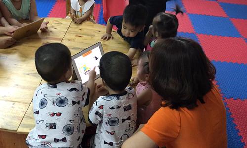 Ứng dụng công nghệ hỗ trợ phát triển tư duy trẻ nhỏ