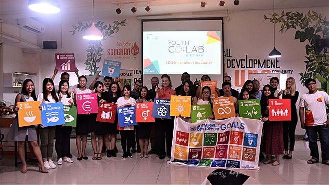Có khoảng 700 triệu thanh niên tại châu Á - Thái Bình Dương có tiềm năng quyết định tương lai khu vực. Ảnh: UNDP Việt Nam.