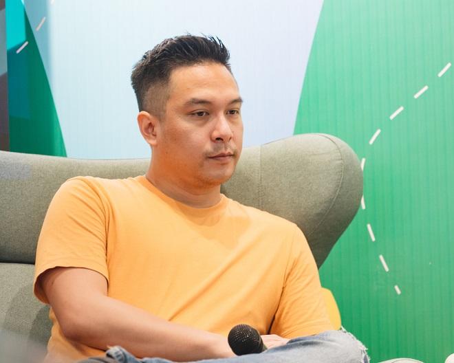 Ông Lâm Trần - CEO WisePass nói doanh nghiệp thường xuyên tổ chức sự kiện gặp gỡ khách hàng để lắng nghe ý kiến và nắm bắt nhu cầu thị trường. Ảnh: Viettonkin.