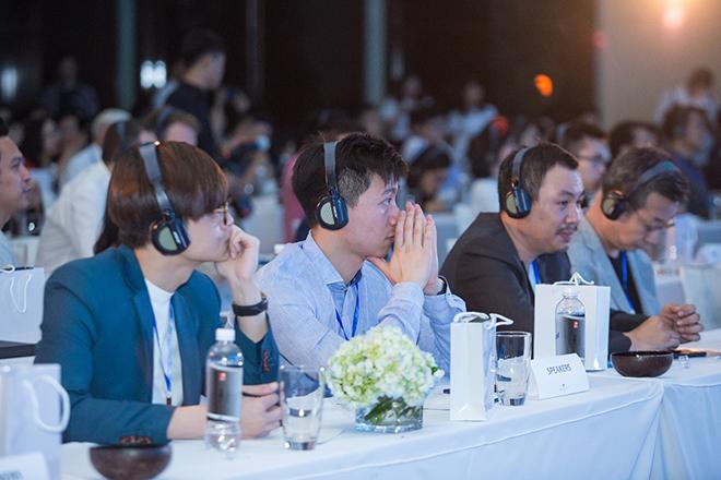 Sự kiện có sự tham gia của nhiều startup Blockchain và các quỹ đầu tư quốc tế