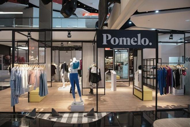 Cửa hàng của Pomelo tại trung tâm thương mại Siam Square. Nguồn ảnh: ecommerceIQ