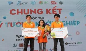 Cuộc thi khởi nghiệp sinh viên với giải thưởng tới 1 tỷ đồng