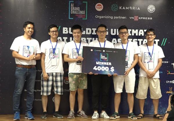 Quán quân của cuộc thi với giải thưởng 4.000 USD