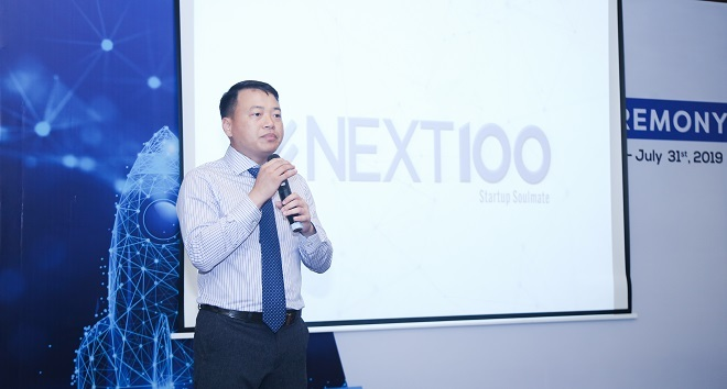 Nguyễn Hòa Bình, Chủ tịch NextTech, đồng thời là Sáng lập quỹ Next100