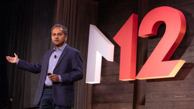 Ông Nagraj Kashyap - chủ tịch quỹ đầu tư công nghệ M12 của Microsoft (Nguồn CNBC)
