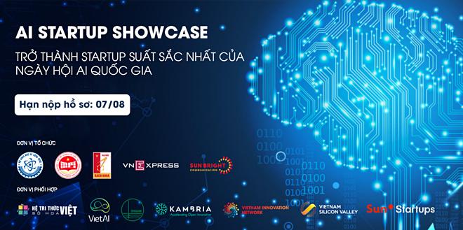 Sự kiện AI Startup Showcase mang lại nhiều cơ hội gọi vốn, hỗ trợ đào tạo, tư vấn phát triển công ty cho các startup công nghệ AI trong nước. Để biết thêm chi tiết, liên hệ Mr Huy, số điện thoại: 0968040688, Email: huypn@vsv-accelerator.com.