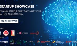 Cơ hội gọi vốn cho startup AI trong Ngày hội Trí tuệ nhân tạo