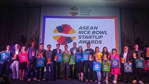 Lễ trao giải ASEAN Rice Bowl Startup Awards lần thứ 4 tại Malaysia.
