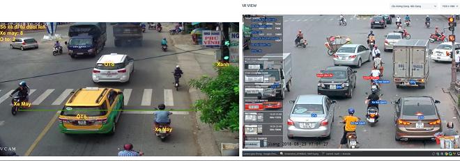 Phần mềm của camera TSS được ứng dụng công nghệ AI và Học máy, có thể tự động phân tích và xử lý các dữ liệu phương tiện giao thông kể cả trong điều kiện thiếu sáng và tôc độ nhanh.