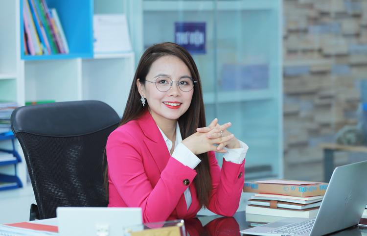 Nhà sáng lập IMAP Nguyễn Thị Hoa.
