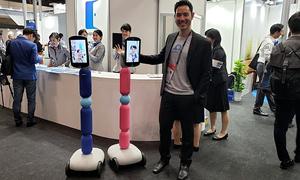 OhmniLabs trình diễn robot giao tiếp từ xa