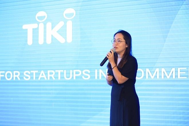 Bà Vũ Thị Nhật Linh - Giám đốc sàn giao dịch Tiki