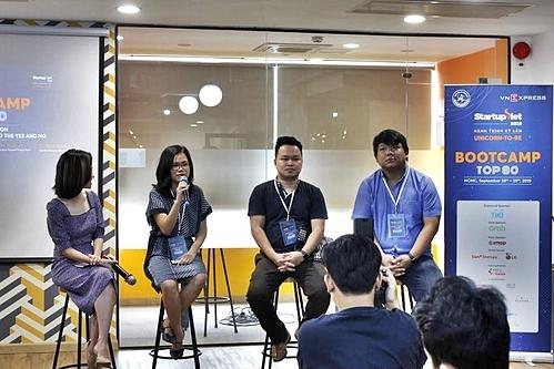 Đại diện các chuyên gia có mặt tại buổi Bootcamp.