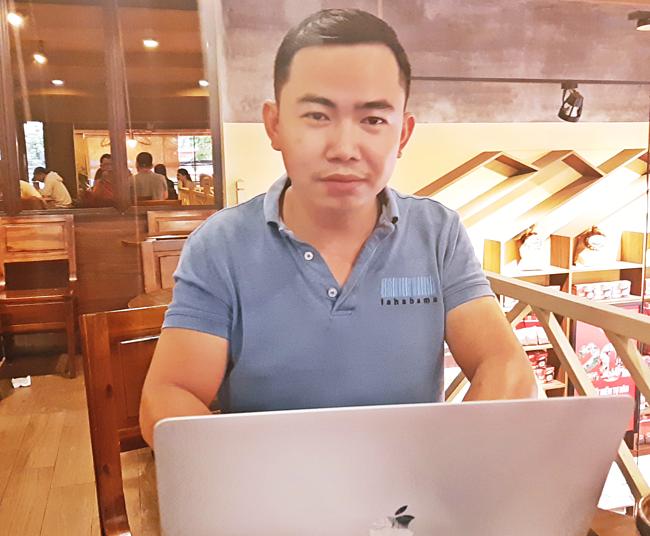 Trần Văn Kim - CEO dự án Wetrans có 7 năm kinh nghiệmtrong lĩnh vực lập trình phần mềm và thiết kế website.
