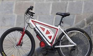 Kỹ sư Nga biến xe đạp thường thành xe đạp điện