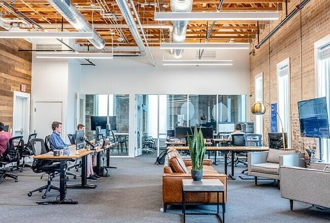 Mô hình không gian làm việc cho thuê được tối ưu bởihệ thống AI của Smarten Spaces.