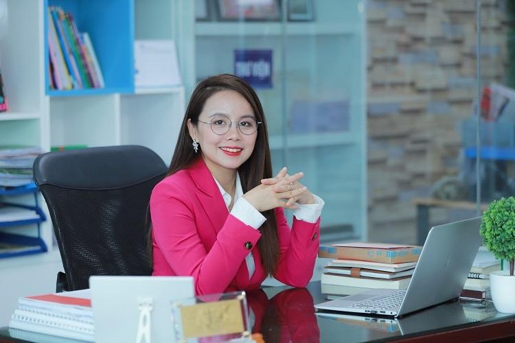 Bà Nguyễn Thị Hoa - Sáng lập IMAP Việt Nam.