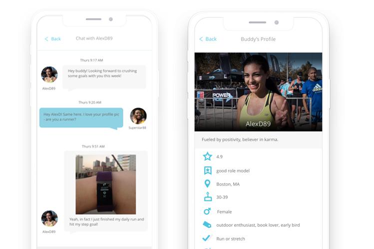 Ứng dụng cho phép người dùng theo dõi các mục tiêu và trò chuyện cùng các đối tác của mình để thúc đẩy hành động. Ảnh: Supporti.