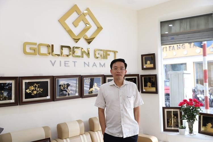 Ông Trần Văn Thắng - CEO của công ty Golden Gift Việt Nam.