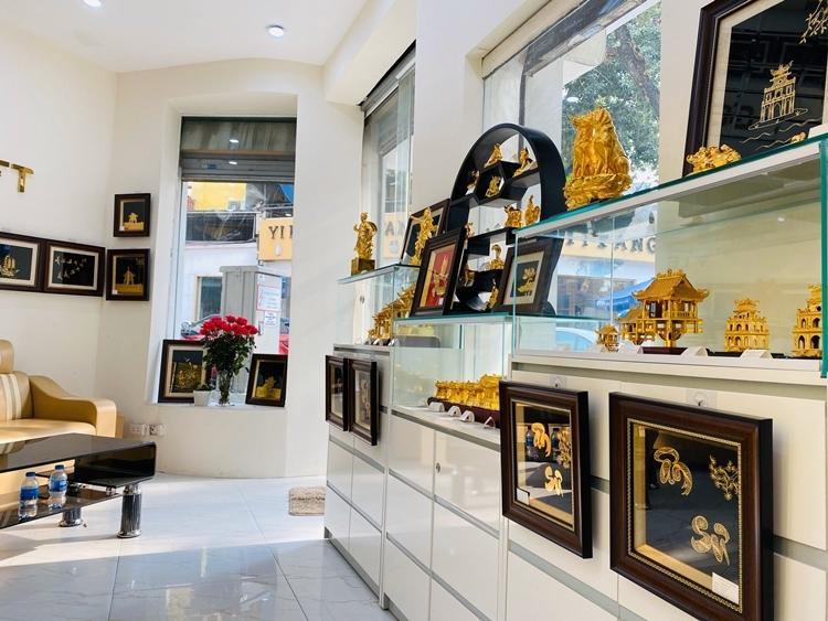 Không gian trưng bày sản phẩm tại showroom công ty.