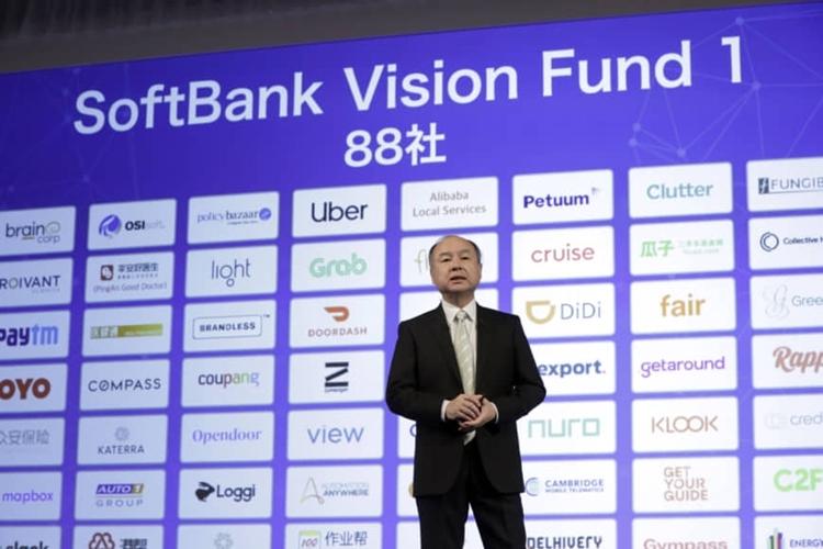 Ông Masayoshi Son -  CEO của SoftBank. Ảnh: Bloomberg