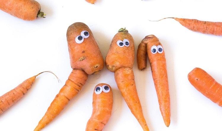 UglyFood đến từ Singapore khởi nghiệp bằng cách tăng nhận thức của người tiêu dùng rằng thực phẩm xấu xí vẫn có vị ngon và bổ dưỡng giống như thực phẩm có vẻ ngoài tốt. Ảnh: wastewise.