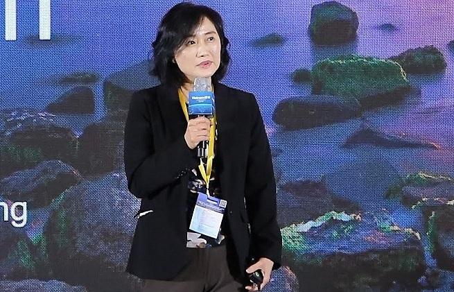 Bà An Mei Chen - Giám đốc kỹ thuật cấp cao Tập đoàn Qualcomm.