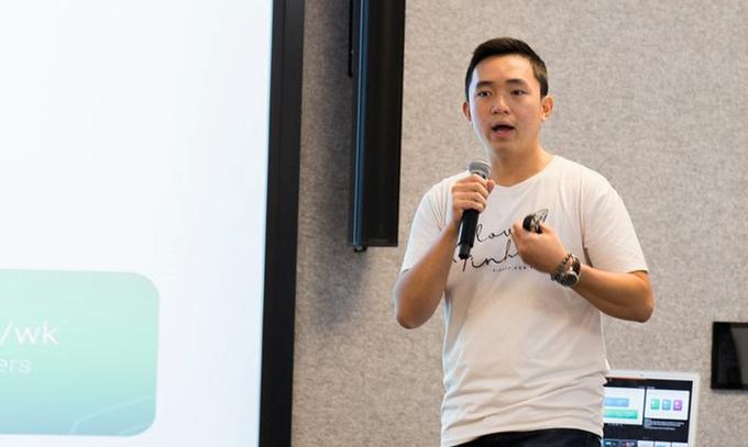 Nghiêm Xuân Huy - nhà sáng lập và Giám đốc điều hành startup Finhay.
