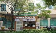 Bán cà phê kèm dịch vụ vệ sinh công cộng miễn phí