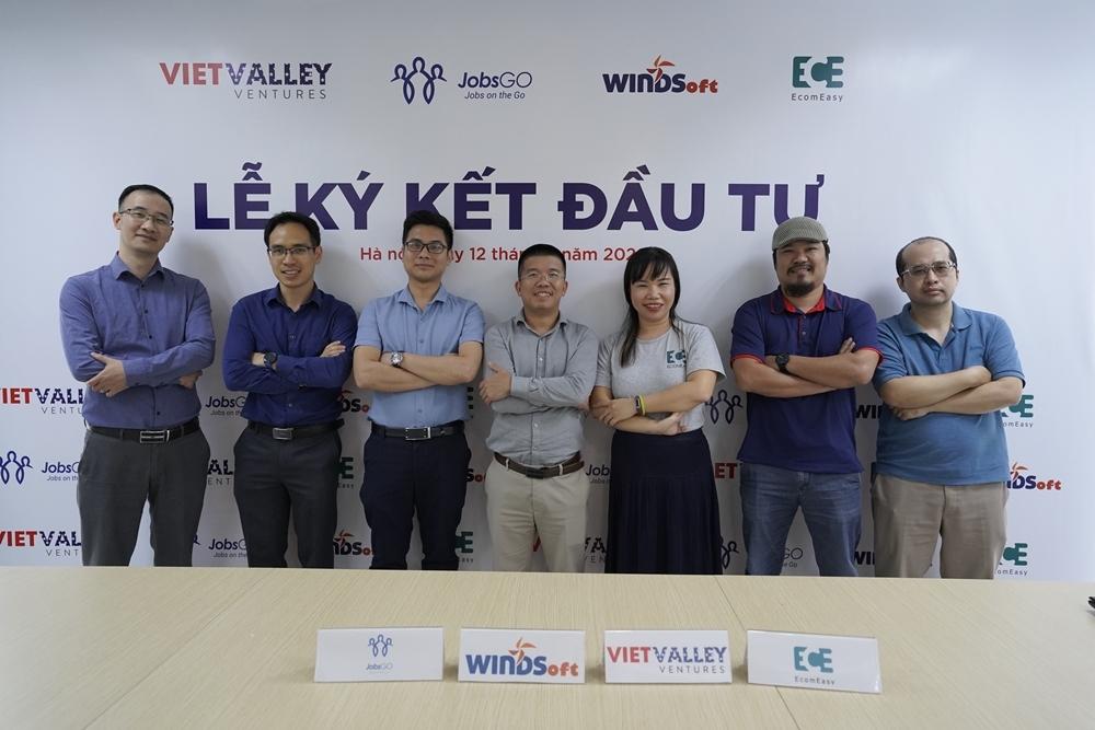 Lễ ký kết đầu tư của quỹ Viet Valley Venture.